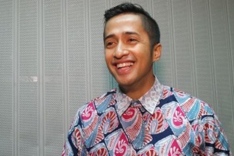 Irfan Hakim di Studio Indosiar, Jalan Damai, Daan Mogot, Jakarta, Kamis (4/7/2013).