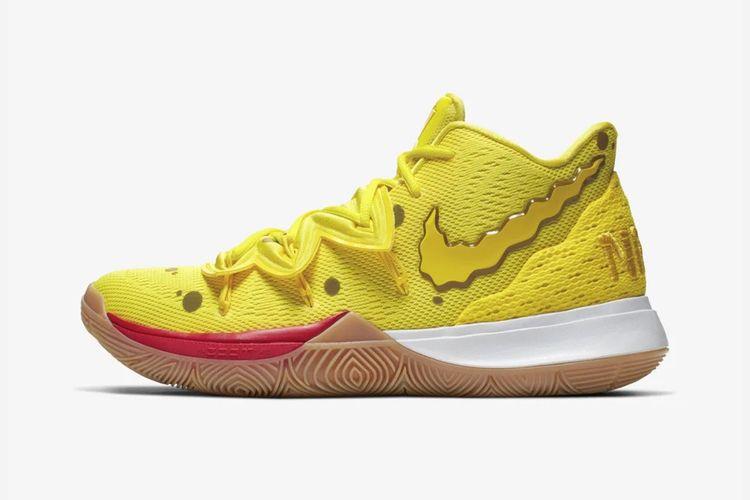 Nickelodean x Nike Kyrie 5 Spongebob Squarepants