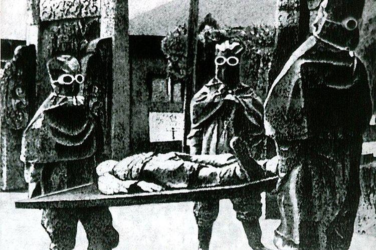 Dalam eksperimen Unit 731. [Via Wikimedia Commons]