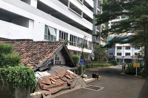 BERITA FOTO: Rumah Reyot di Tengah Apartemen Mewah Thamrin Executive Residence