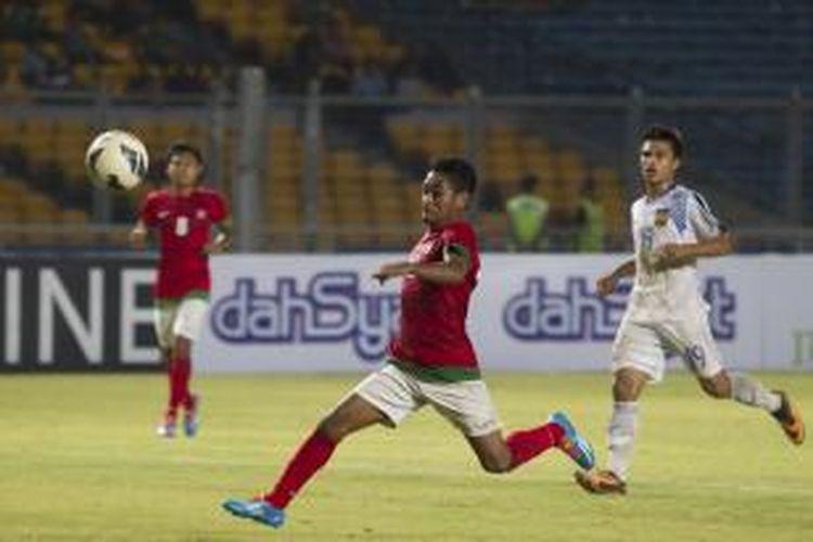 Gelandang tim nasional Indonesia U-23, Ramdani Lestaluhu.