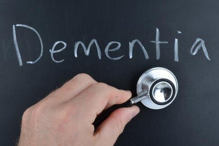 Ilustrasi demensia atau pikun