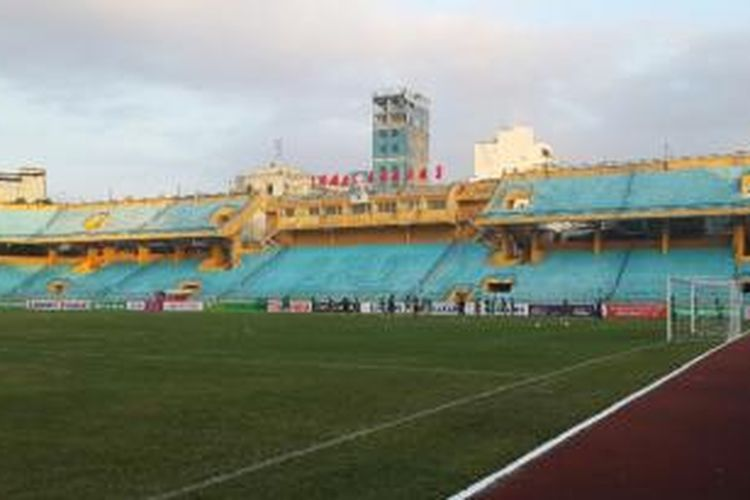 Stadion Hang Day di Hanoi, Vietnam.