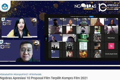 10 Proposal Kompro Film 2021 Siap Diproduksi Kemendikbud Ristek
