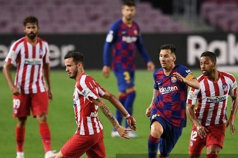 Hasil Liga Spanyol - Barcelona Vs Atletico Madrid Imbang, Sevilla Menang