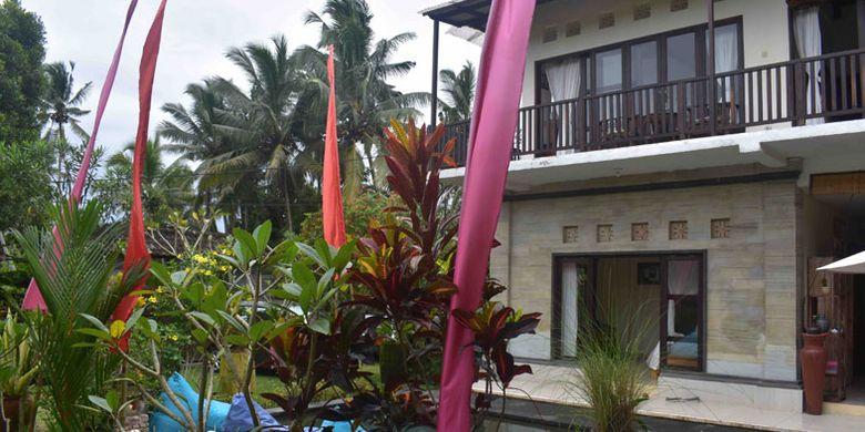 Umah Bali Villa di Kedewatan, Ubud, Kabupaten Gianyar, Bali.