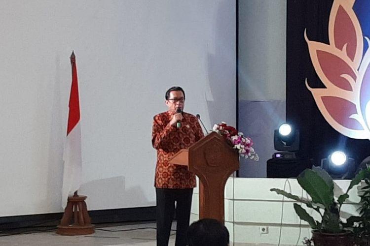 Sekretaris Jenderal Kementerian ATR/BPN Himawan Arief Sugoto.