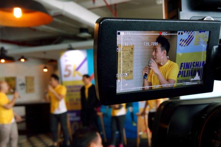 Daniel Mananta, ikon Danamon Run 2018 berpesan agar olahraga lari makin mendapat tempat di hati semakin banyak masyarakat di Indonesia.