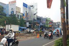 Ada Proyek Perbaikan Drainase, Kemacetan Panjang Terjadi di Jalan Dewi Sartika Ciputat