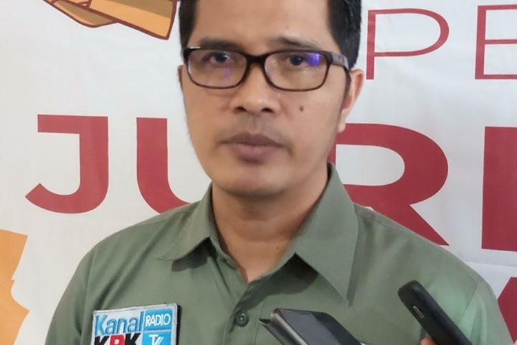 Kepala Biro Hubungan Masyarakat (Humas) yang juga dikenal sebagai Juru Bicara KPK, Febri Diansyah
