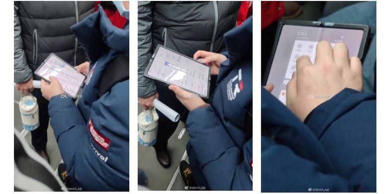 Wujud ponsel lipat Xiaomi beredar