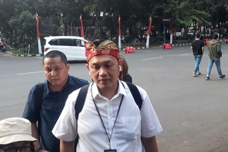 Pengacara Farhat Abbas mendatangi Polda Metro Jaya pada Rabu (7/8/2019) pukul 17.00.