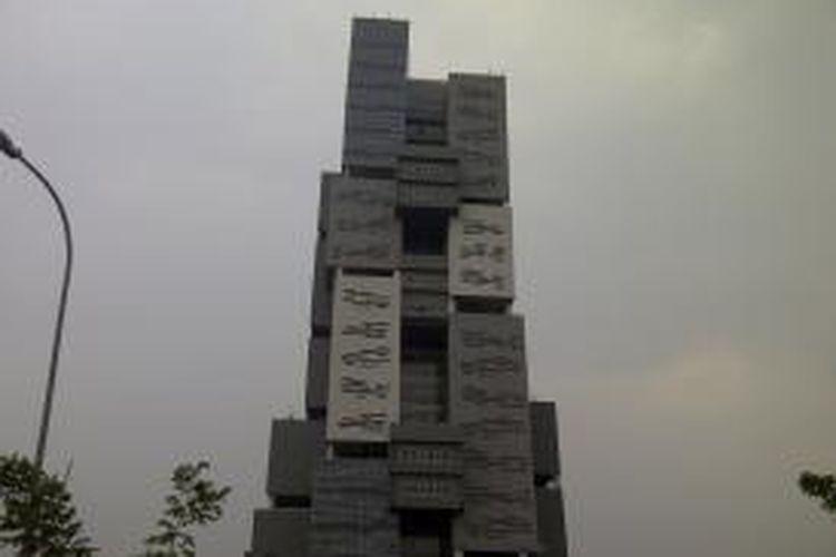 Binus University Alam Sutera, Tangerang, Banten, Kamis (23/10/2014).