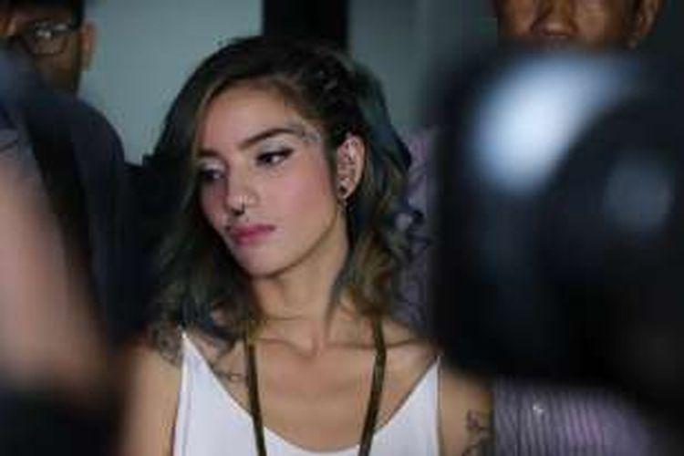 Artis peran Sheila Marcia Joseph saat ditemui di kawasan Mampang, Jakarta Selatan, Rabu (30/3/2016).
