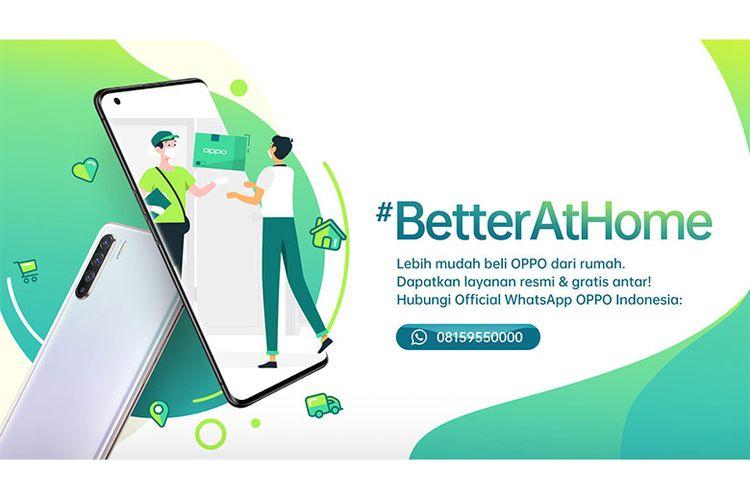 #BetterAtHome program OPPO dalam mendukung physical distancing