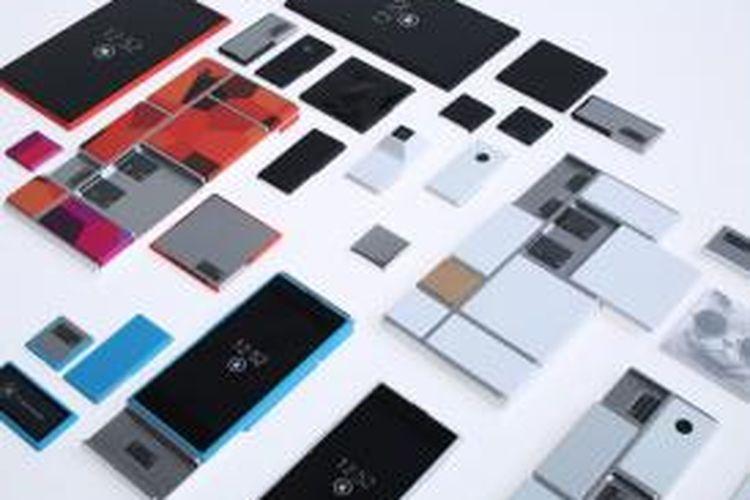 Proyek ponsel rakitan yang disebut Project Ara, kini dikembangkan oleh Google