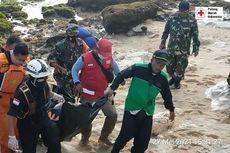Satu Lagi Korban Terseret Ombak Pantai Batu Bengkung Malang Ditemukan Meninggal