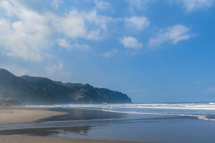 Pantai Parangtritis di Daerah Istimewa Yogyakarta.