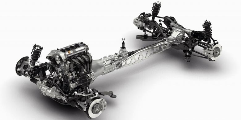 Sasis Skyactiv Mazda MX-5