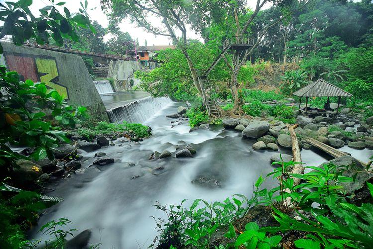 Wisata Umbul Cokro di Klaten.