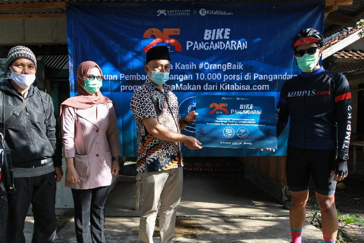 Kompas.com #MelihatHarapan Bike Pangandaran 2021