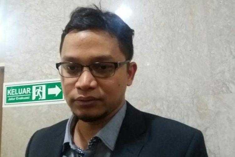 Wakil Ketua Komisi I DPR, Hanafi Rais di Kompleks Parlemen, Senayan, Jakarta, Kamis (25/2/2016)