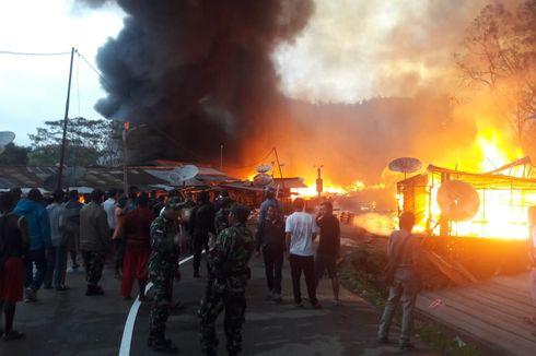 Kronologi Kerusuhan dan Pembakaran 150 Kios di Oksibil, Papua