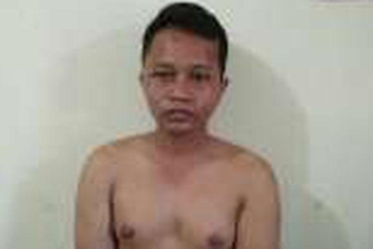 Muhammad Arsyad alias Imen (26), penghina presiden Jokowi yang kini ditahan karena diduga menyekap dua anak perempuan.