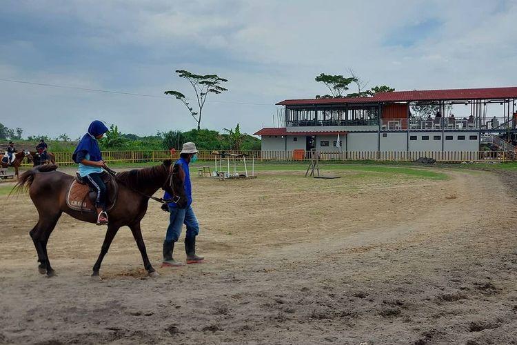 Area wahana berkuda di De Wangen, masih satu kompleks dengan Ketjeh Resto