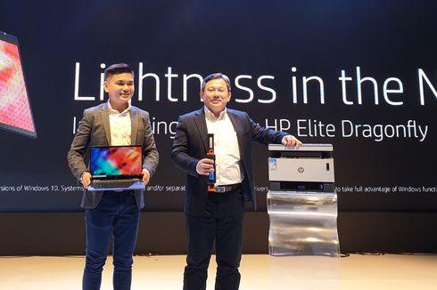 HP Rilis Elite Dragonfly, Laptop