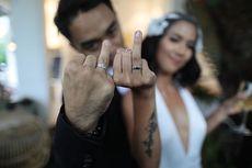Selamat! Dhipa Barus dan Vanessa Budihardja Menikah di Los Angeles
