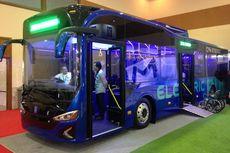Bus Listrik 'Anak Bangsa' Sudah Lulus Uji Tipe
