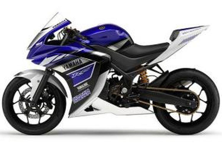 Konsep Yamaha R25, kemungkinan bakal diteman R3 untuk pasar Eropa dan Amerika.