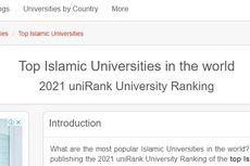 10 Universitas Islam Terbaik Dunia 2021 UniRank, Indonesia Mendominasi