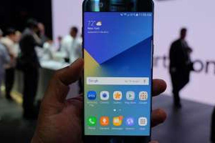 Bagian depan Galaxy Note 7