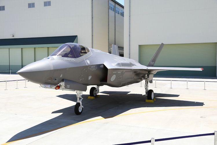Jet temput F-35A milik Jepang.