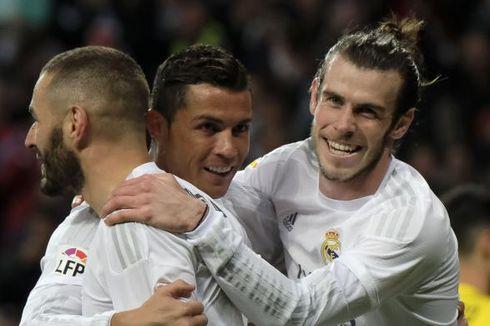 Cedera Hambat Produktivitas Trio BBC di Real Madrid