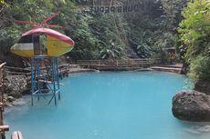 Wisata ke Air Terjun Kedung Pedut, Main Air di Kolam Pemandian Alami