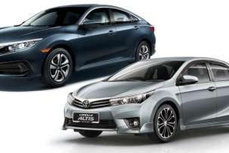 Civic Vs Corolla >> Adu Sakti Honda Civic Turbo Vs Toyota Altis