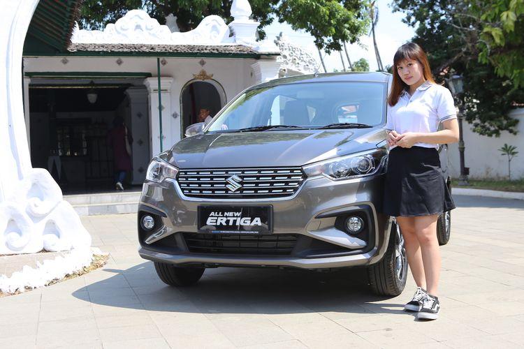 Test drive Suzuki All New Ertiga di Cirebon