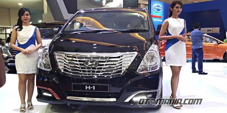 Hyundai H-1 facelift IIMS 2016