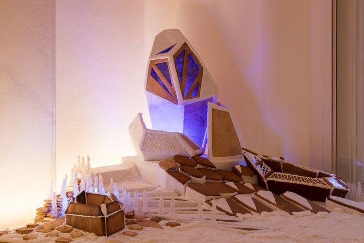 Bangunan kue jahe karya Zaha Hadid Architect.