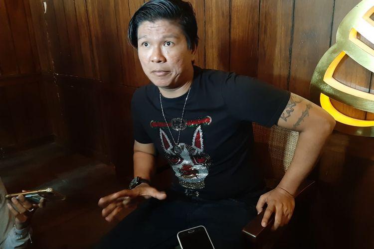 Andika Mahesa ditemui di acara Shopee 2.2 Men Sale, Senopati, Jakarta Selatan,Sabtu (18/1/2020)