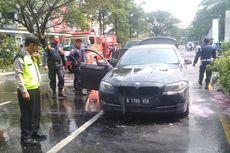 Sedang Test Drive, Mobil BMW Terbakar di Summarecon Bekasi