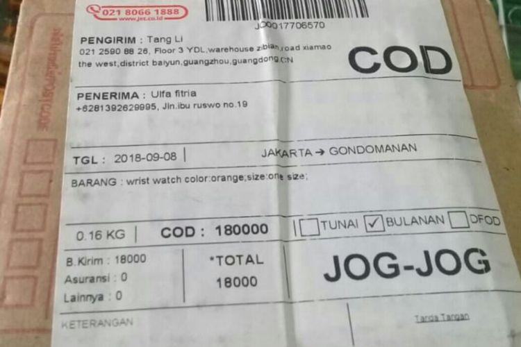 Paket Misterius Terjadi Di Jakarta Penerima Curiga Ada Modus