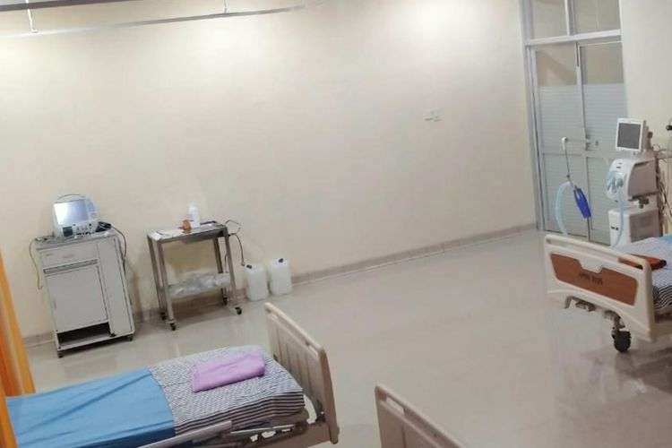 Ruang perawatan pasien di RSUD dr Haulussy Ambon
