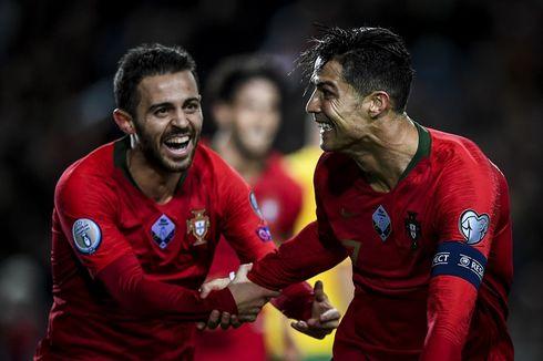 Hasil Kualifikasi Euro 2020, Portugal Susul 16 Tim Lolos Putaran Final