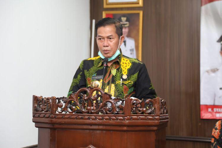 Wali Kota Serang Syafrudin memutuskan untuk memperpanjang PSBB selama 14 hari