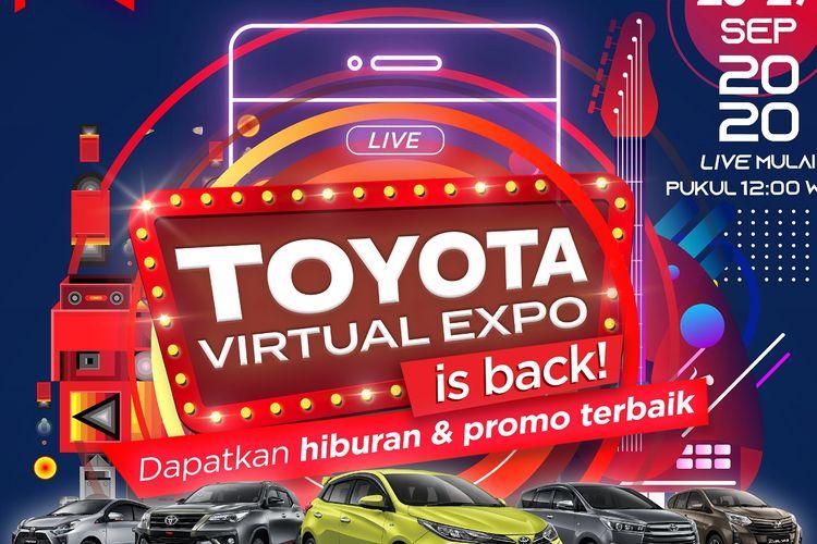 Toyota Virtual Expo berskala nasional, 25-27 September 2020