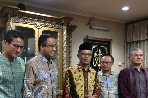 Anies-Sandiaga Temui Pimpinan Muhammadiyah